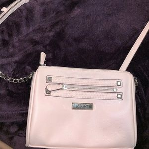 Reaction by Kenneth Cole light pink purse